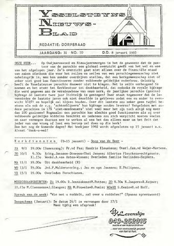 Ysselsteyns Nieuwsblad 1993