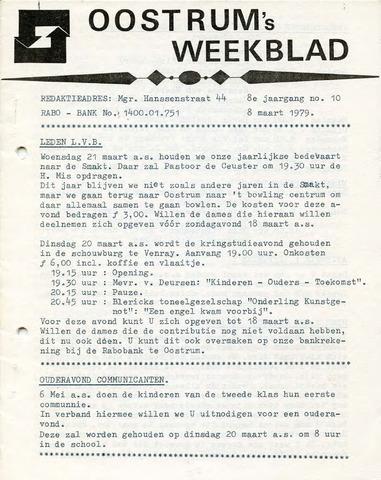 Oostrum's Weekblad 1979-03-08