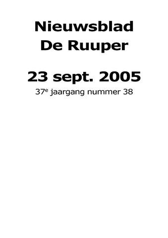 Dorpsblad Leunen-Veulen-Heide 2005-09-23