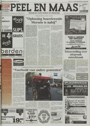Peel en Maas 2000-11-30