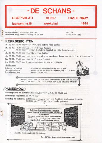 Castenrays dorpsblad De Schans 1989-10-06