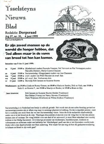 Ysselsteyns Nieuwsblad 1999-06-04