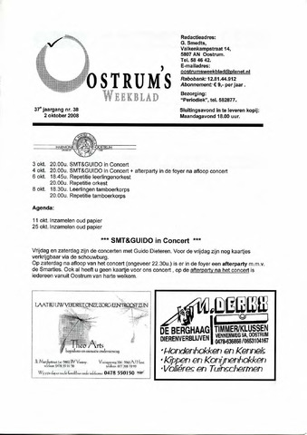 Oostrum's Weekblad 2008-10-02