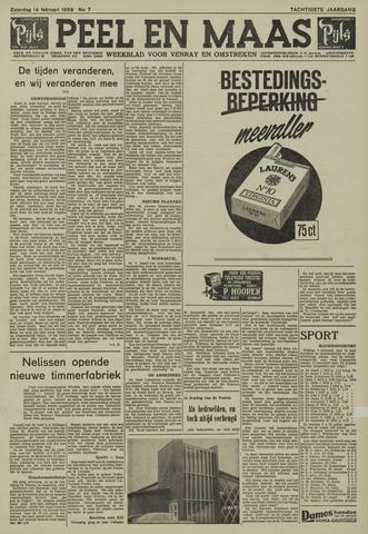 Peel en Maas 1959-02-14