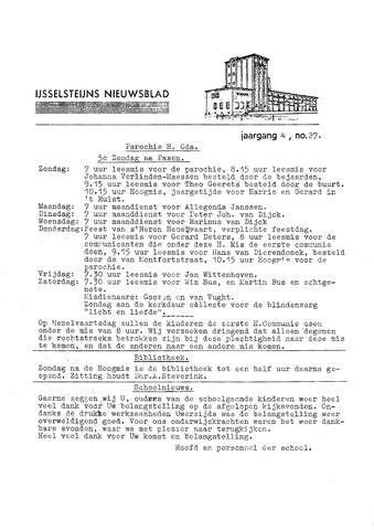 Ysselsteyns Nieuwsblad 1966-05-12