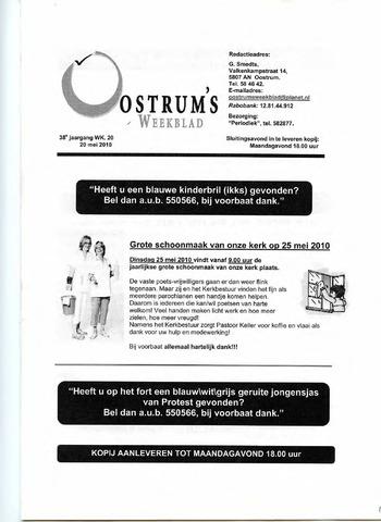 Oostrum's Weekblad 2010-05-20