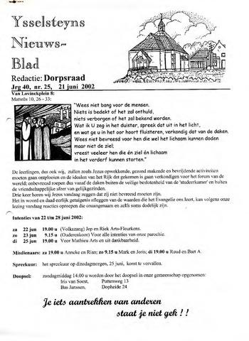 Ysselsteyns Nieuwsblad 2002-06-21