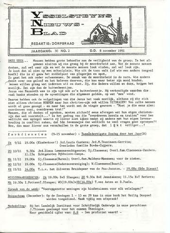 Ysselsteyns Nieuwsblad 1991-11-08