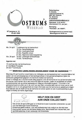 Oostrum's Weekblad 2006-04-20