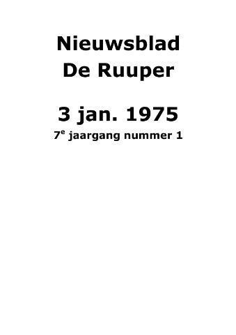 Dorpsblad Leunen-Veulen-Heide 1975-01-03
