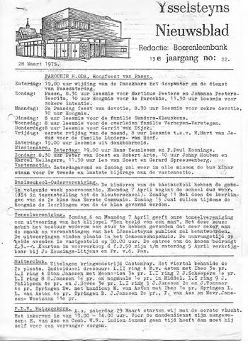 Ysselsteyns Nieuwsblad 1975-03-28