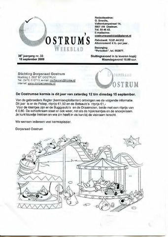 Oostrum's Weekblad 2009-09-10