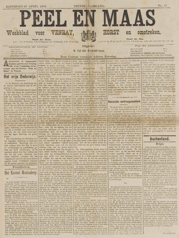Peel en Maas 1889-04-27