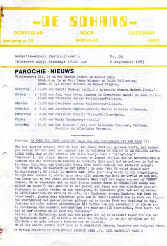Castenrays dorpsblad De Schans 1983-09-02