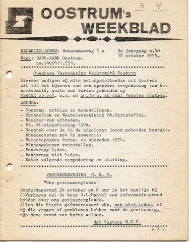 Oostrum's Weekblad 1974-10-18