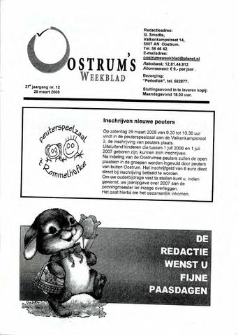 Oostrum's Weekblad 2008-03-20