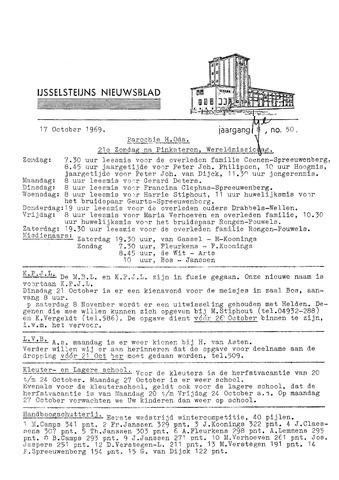 Ysselsteyns Nieuwsblad 1969-10-17