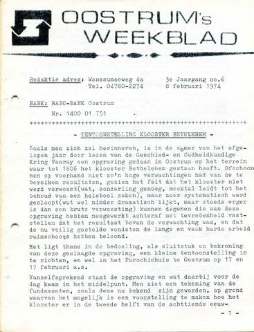 Oostrum's Weekblad 1974-02-08