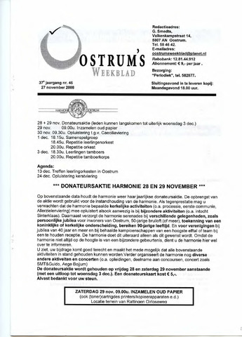 Oostrum's Weekblad 2008-11-27
