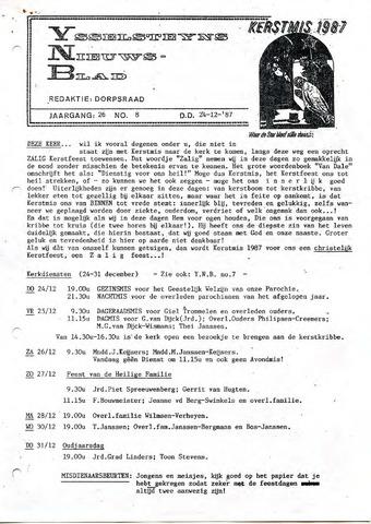 Ysselsteyns Nieuwsblad 1987-12-24