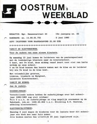 Oostrum's Weekblad 1983-06-02