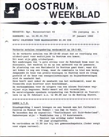 Oostrum's Weekblad 1983-01-27