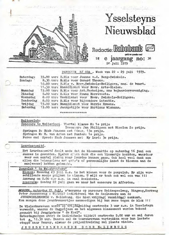 Ysselsteyns Nieuwsblad 1979-07-20