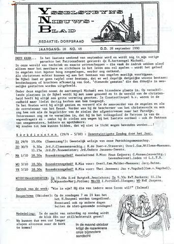 Ysselsteyns Nieuwsblad 1990-09-28