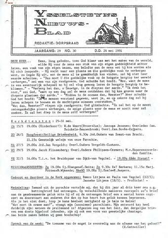 Ysselsteyns Nieuwsblad 1991-05-24
