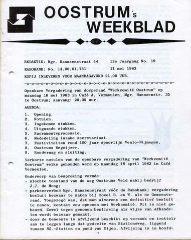 Oostrum's Weekblad 1983-05-11