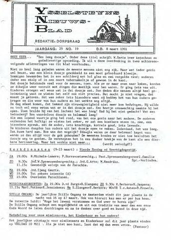 Ysselsteyns Nieuwsblad 1991-03-08