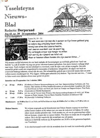 Ysselsteyns Nieuwsblad 2004-09-24