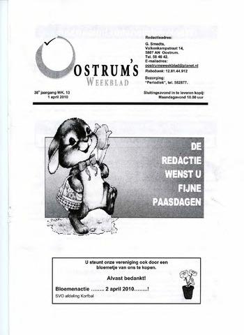 Oostrum's Weekblad 2010-04-01