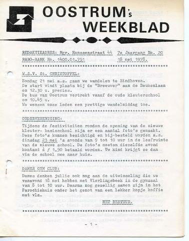 Oostrum's Weekblad 1978-05-18