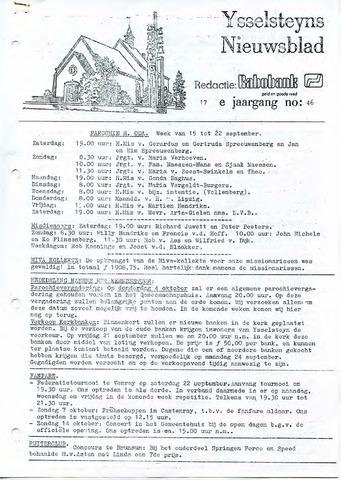 Ysselsteyns Nieuwsblad 1979-09-14