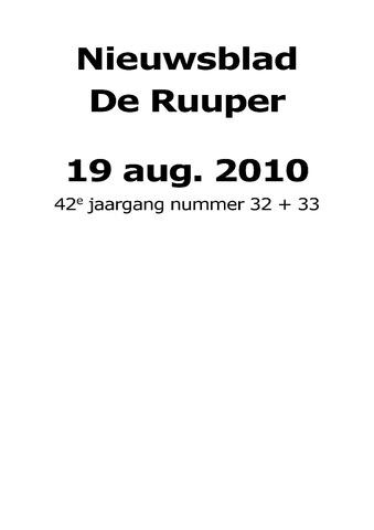 Dorpsblad Leunen-Veulen-Heide 2010-08-19