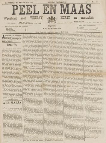 Peel en Maas 1889-11-30