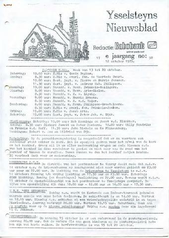 Ysselsteyns Nieuwsblad 1979-10-12