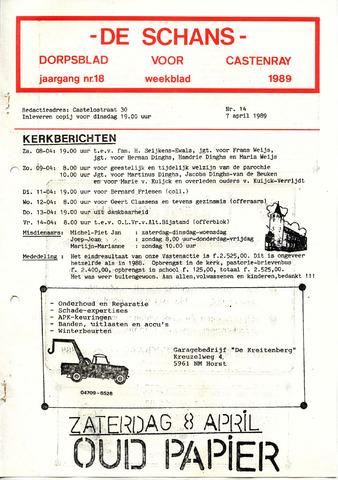 Castenrays dorpsblad De Schans 1989-04-07