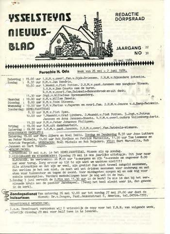 Ysselsteyns Nieuwsblad 1984-05-25