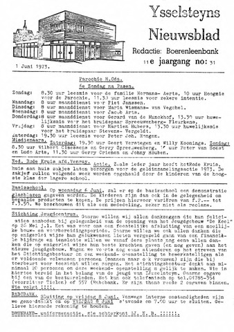 Ysselsteyns Nieuwsblad 1973-06-01