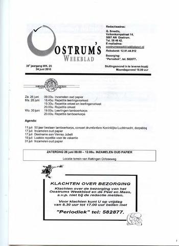 Oostrum's Weekblad 2010-06-24