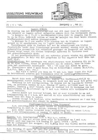 Ysselsteyns Nieuwsblad 1969-04-25