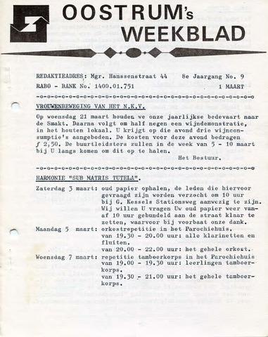 Oostrum's Weekblad 1979-03-01