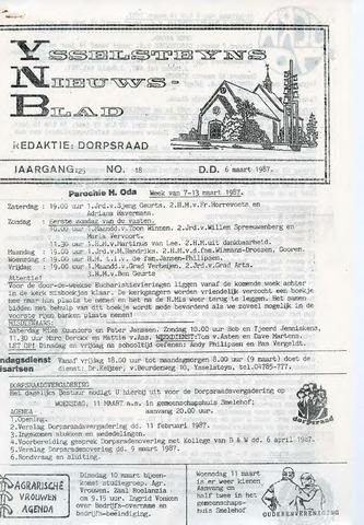 Ysselsteyns Nieuwsblad 1987-03-06