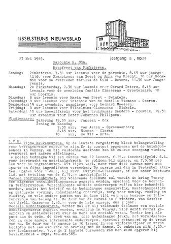 Ysselsteyns Nieuwsblad 1969-05-23