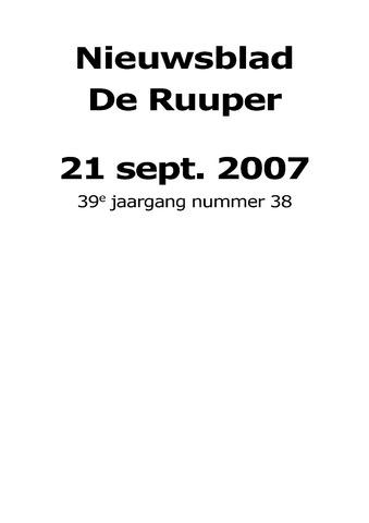 Dorpsblad Leunen-Veulen-Heide 2007-09-21
