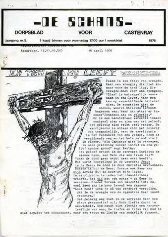 Castenrays dorpsblad De Schans 1976-04-16