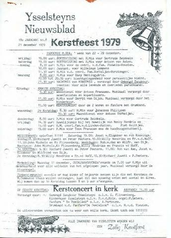 Ysselsteyns Nieuwsblad 1979-12-21