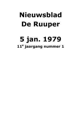Dorpsblad Leunen-Veulen-Heide 1979